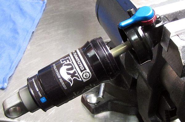 New Fox CTD Boost Valve and Dish Rear Shock Rebuild Kit