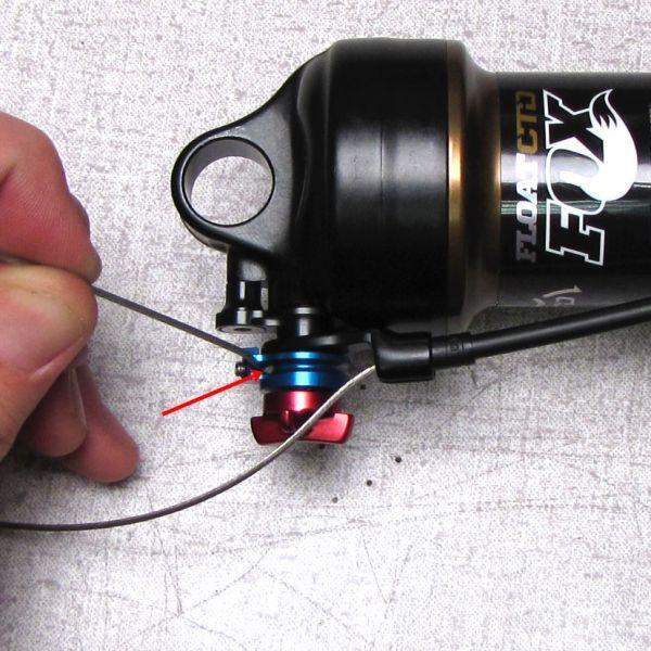 AM Splitter 2014 CTD Fox Shox Remote Lever Kit