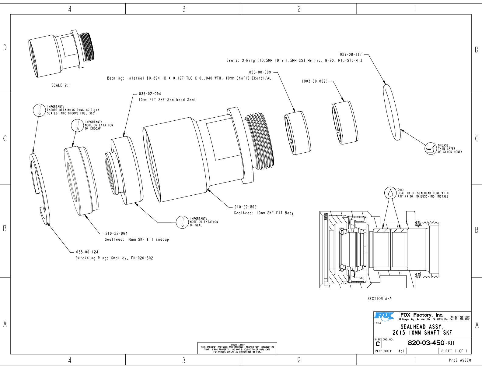 40mm Part Information | Bike Help Center | FOX