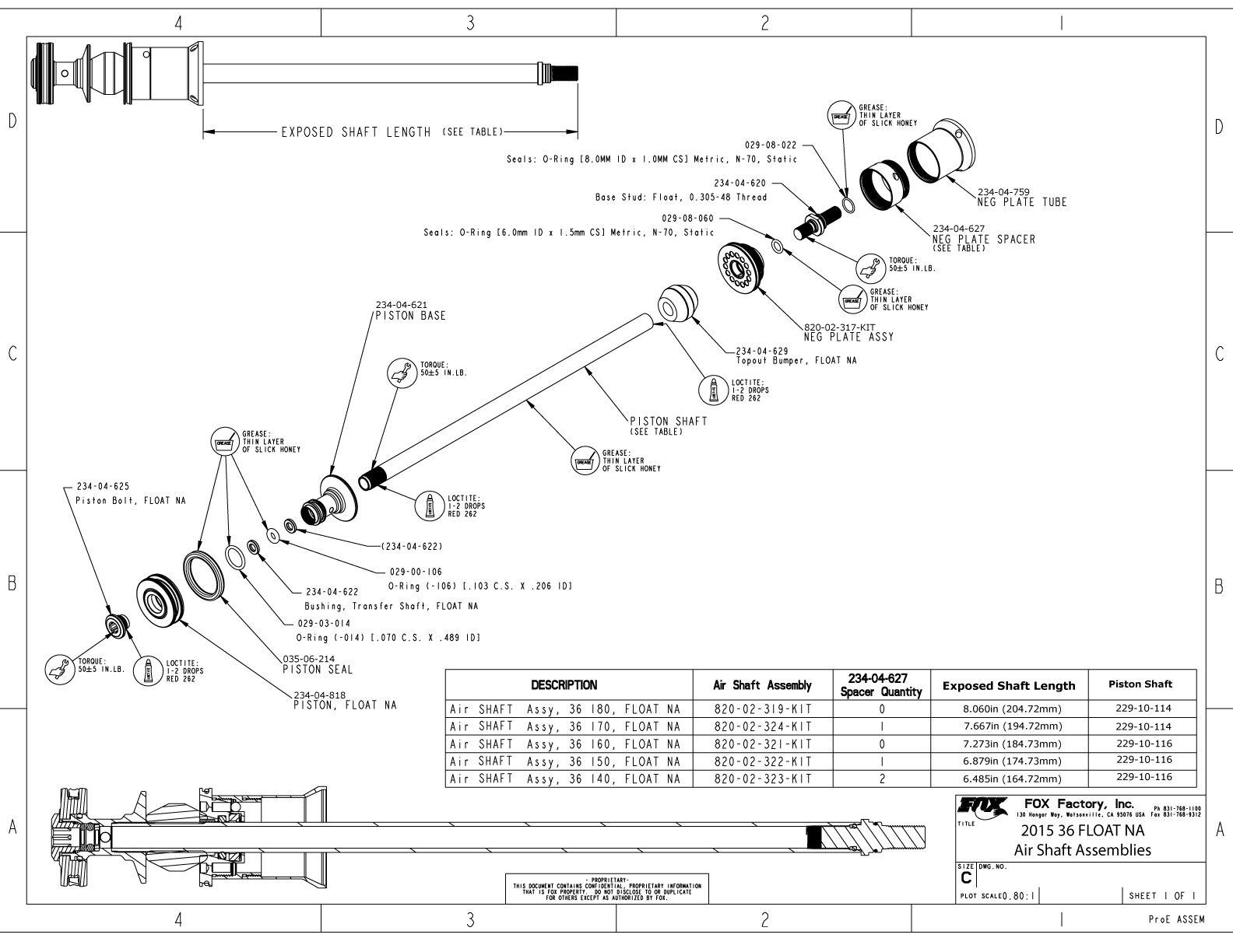 36mm Part Information Bike Help Center Fox
