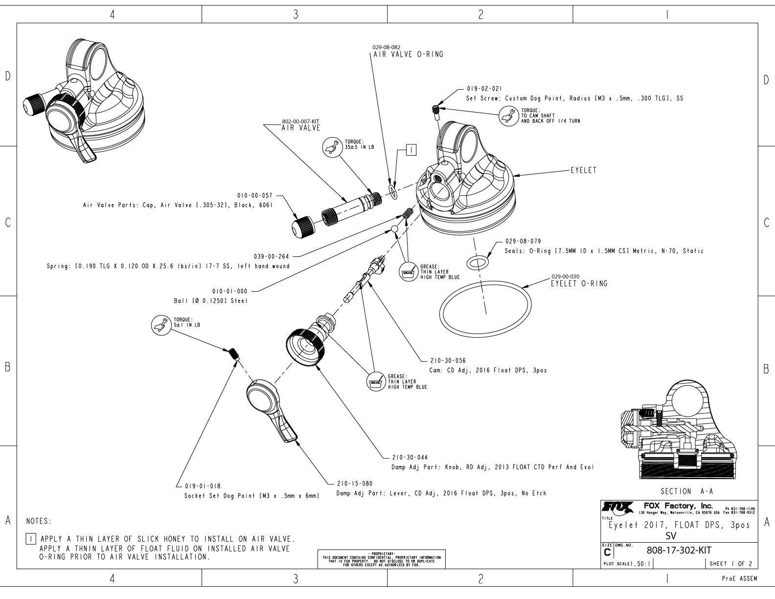 FLOAT DPS Part Information | Bike Help Center | FOX