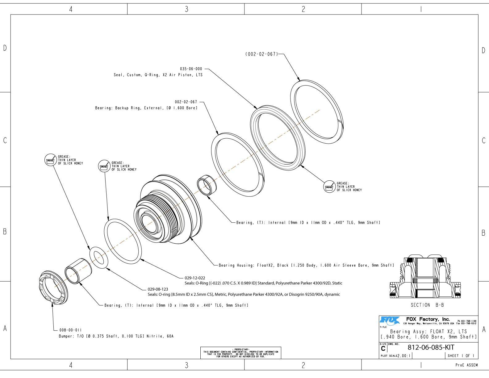 FLOAT X2 Part Information | Bike Help Center | FOX