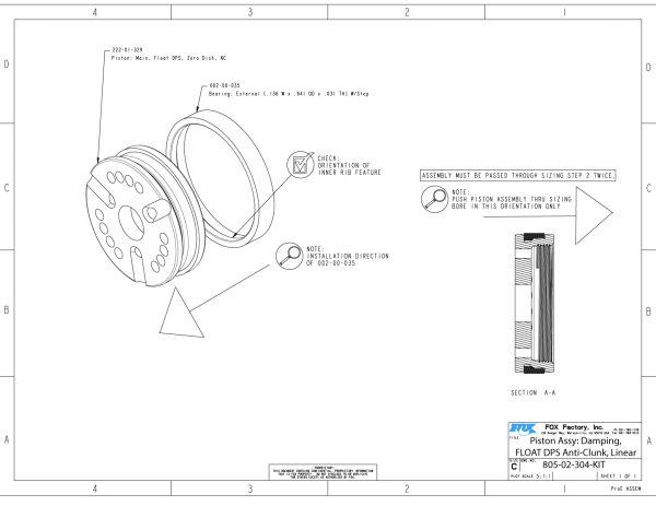 Float Dps Part Information