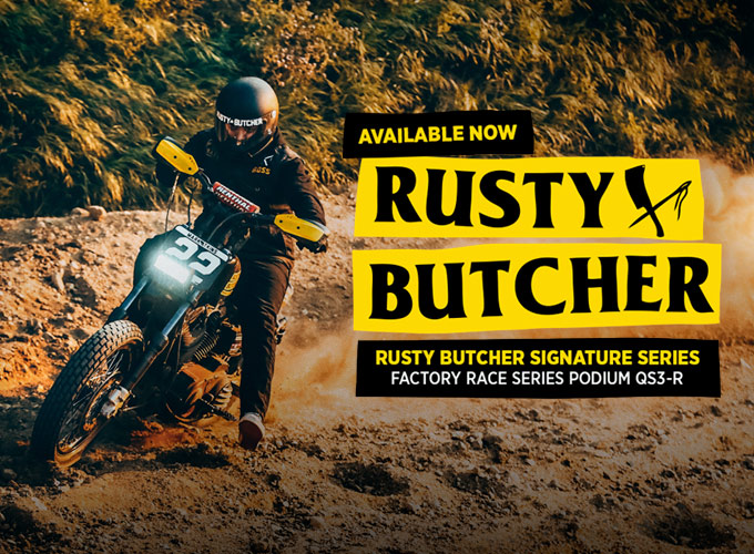 Rusty Butcher Signature Series Motorcycle Shocks