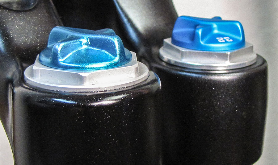 Air cap comparison