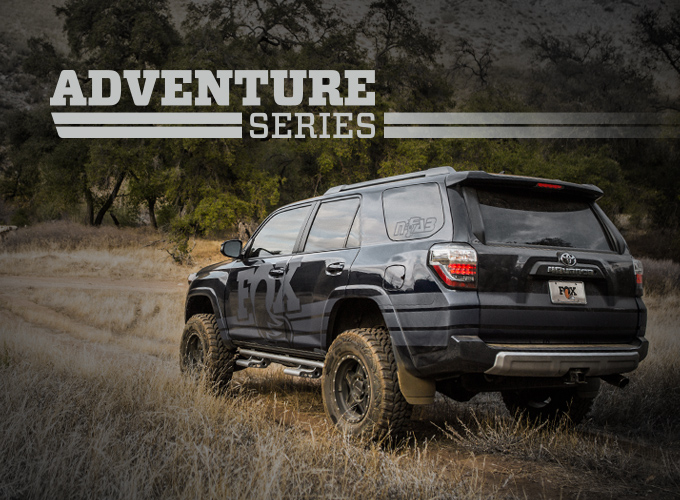 Adventure Series Truck Shocks