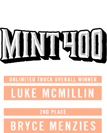 Mint 400 Winners