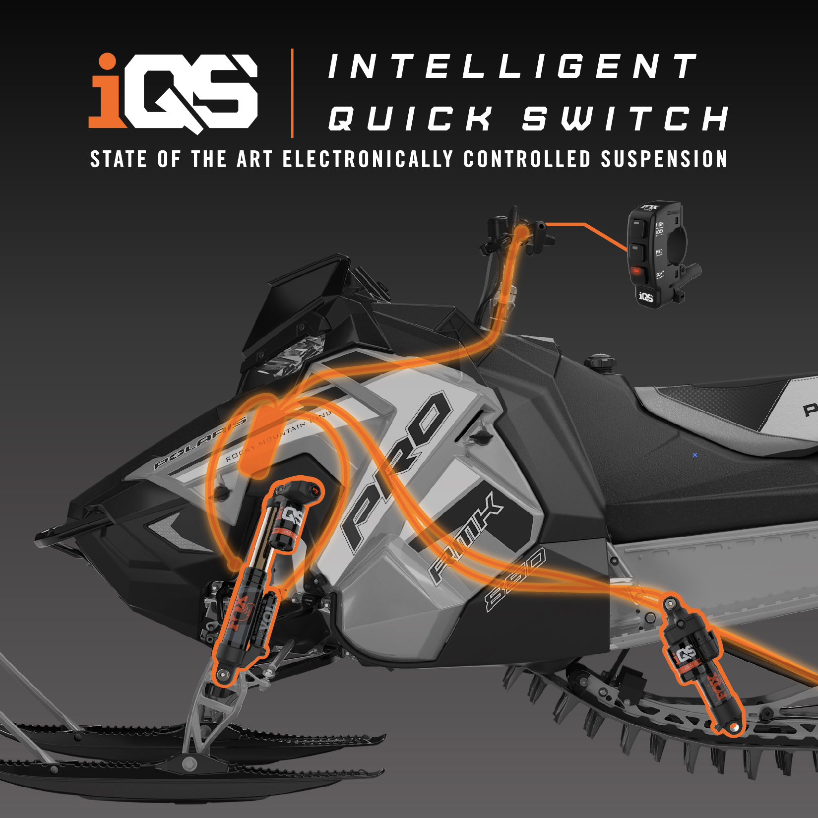 iQS - Intelligent Quick Switch | Snowmobile Suspension | FOX