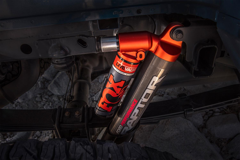 FOX Live Valve technology meets the 2019 Ford F-150 Raptor | FOX